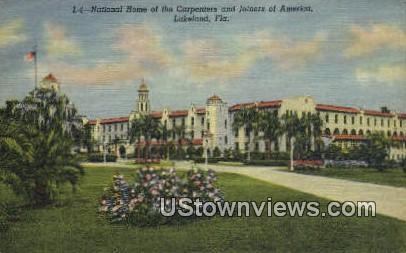 National Home of the Carpenters - Lakeland, Florida FL Postcard