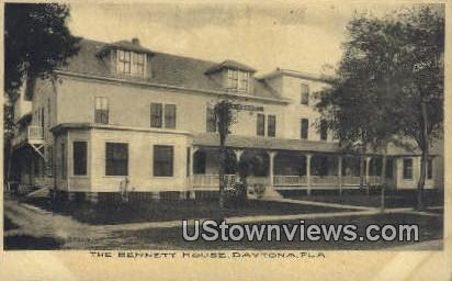 The Bennett House - Daytona, Florida FL Postcard