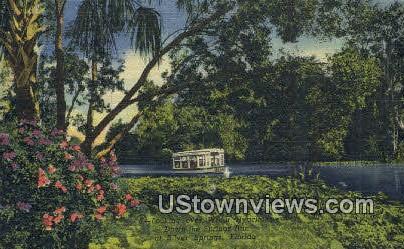 Springs Run - Silver Springs, Florida FL Postcard