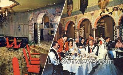 Las Novedades Spanish Restaurant - Tampa, Florida FL Postcard