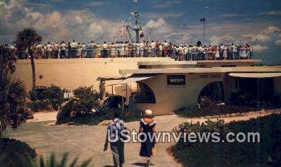 Tanks from Mound - Marineland, Florida FL Postcard