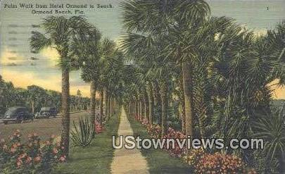 Hotel Ormond - Ormond Beach, Florida FL Postcard