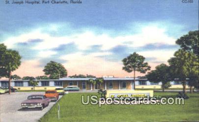 St. Joseph Hospital - Port Charlotte, Florida FL Postcard