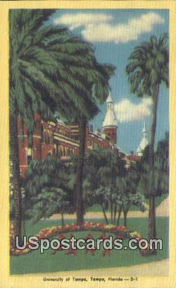 University of Tampa - Florida FL Postcard