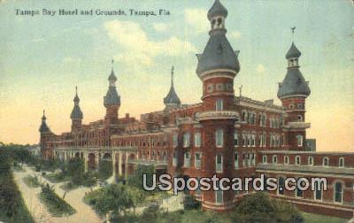 Tampa Bay Hotel & Grounds - Florida FL Postcard