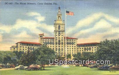 Miami Biltmore - Coral Gables, Florida FL Postcard