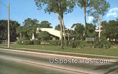 Buccaneer Red Carpte Inn - Naples, Florida FL Postcard