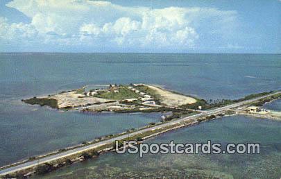 Greyhound Key - Florida Keys Postcards, Florida FL Postcard