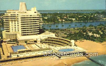 Bright Sun Colony - Miami Beach, Florida FL Postcard