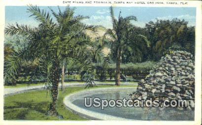 Date Palms, Tampa Bay Hotel - Florida FL Postcard