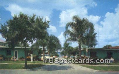 Lakebreeze Court - Lake Jackson, Florida FL Postcard