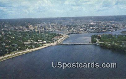 Davis Island - Tampa, Florida FL Postcard