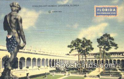 Ringling Art Museum - Sarasota, Florida FL Postcard