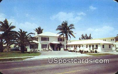 Johnson House - Hollywood, Florida FL Postcard