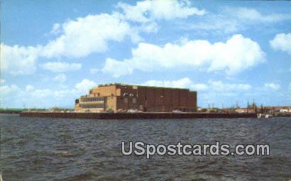 Waterfront - Pensacola, Florida FL Postcard