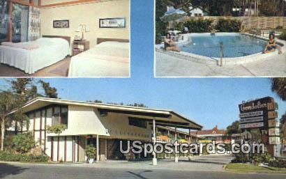 Gondolier Motel - Tarpon Springs, Florida FL Postcard
