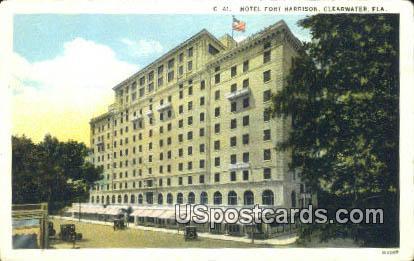 Hotel Fort Harrison - Clearwater, Florida FL Postcard