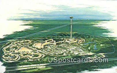 Carolando Hotel & Motor Inn - Kissimmee, Florida FL Postcard