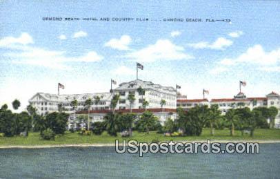 Ormond Beach Hotel & Country Club - Florida FL Postcard