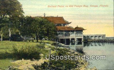 Ballast Point, Old Tampa Bay - Florida FL Postcard