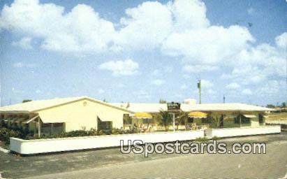 Alvir Ocean Apartments - Palm Beach Shores, Florida FL Postcard