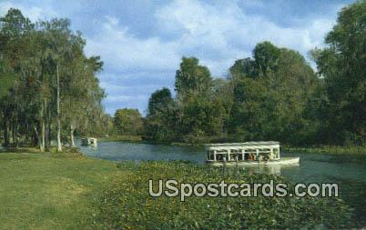 Glass House Restaurant - Silver Springs, Florida FL Postcard