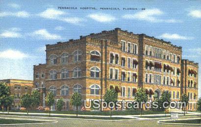 Pensacola Hospital - Florida FL Postcard
