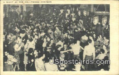 Hollywood Canteen - Florida FL Postcard