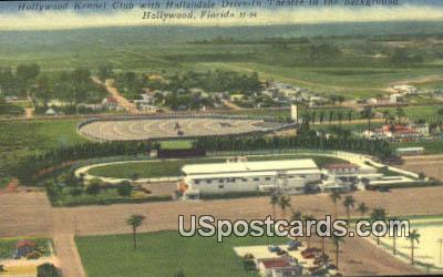 Hollywood Kennel Club - Florida FL Postcard
