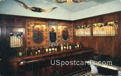 Bar, John Ringling - Sarasota, Florida FL Postcard