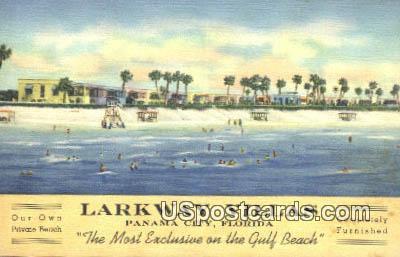 Larkway Villas - Panama City, Florida FL Postcard