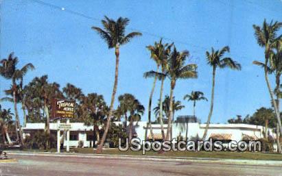 Tropical Acres Restaurant - Delray Beach, Florida FL Postcard