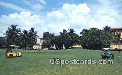 Biltmore Golf Course - Coral Gables, Florida FL Postcard