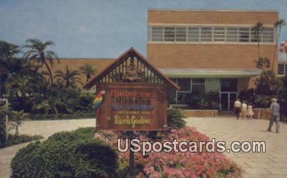 Reception Lobby, Busch Gardens - Tampa, Florida FL Postcard