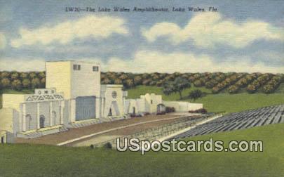 Lake Wales Amphitheater - Florida FL Postcard