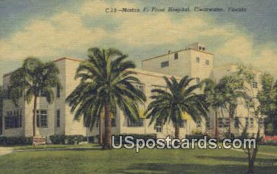 Morton F Plant Hospital - Clearwater, Florida FL Postcard