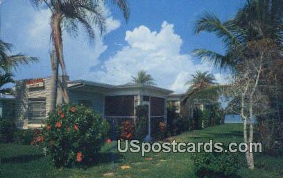 Chula Vista Homettes - Clearwater Beach, Florida FL Postcard