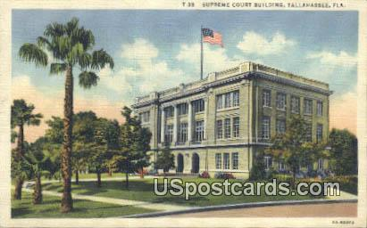 Supreme Court Building - Tallahassee, Florida FL Postcard