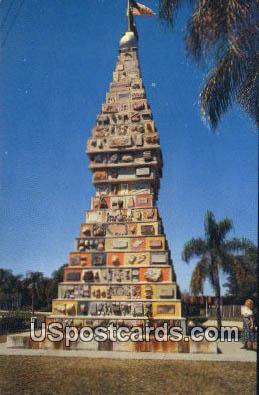 World's Most Unique Monument - Kissimmee, Florida FL Postcard
