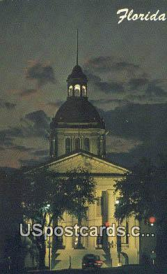 Florida State Capitol - Tallahassee Postcard