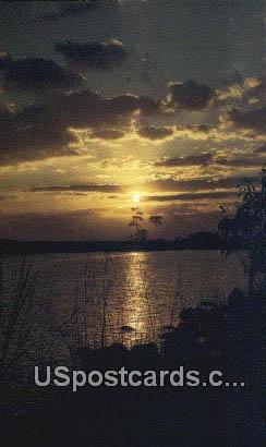 Sunset - Everglades National Park, Florida FL Postcard