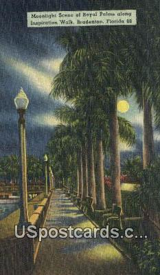 Royal Palms, Inspiration Walk - Bradenton, Florida FL Postcard
