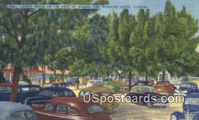 Indian Rocks - Gulf of Mexico, Florida FL Postcard
