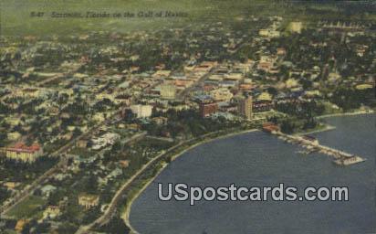 Gulf of Mexico - Sarasota, Florida FL Postcard