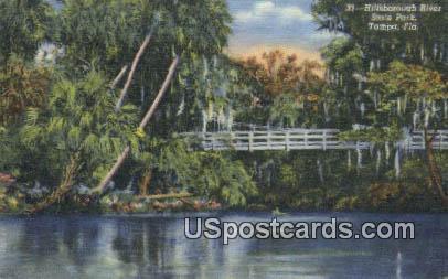 Hillsborough River State Park - Tampa, Florida FL Postcard