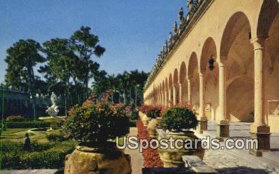 Ringling Museum - Sarasota, Florida FL Postcard