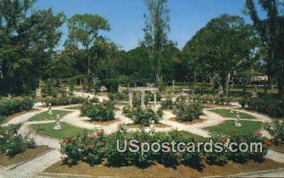 Mable Ringling's Rose Garden - Sarasota, Florida FL Postcard