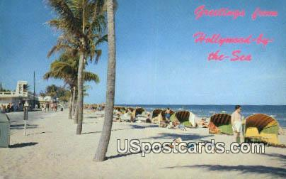 Hollywood, Florida Postcard     ;     Hollywood, FL