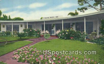Spinning Wheel Inn - Sarasota, Florida FL Postcard