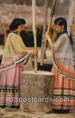 Seminole Indian - Silver Springs, Florida FL Postcard